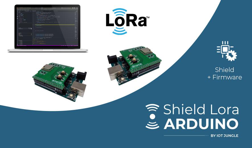 Slide Shield Lora Arduino